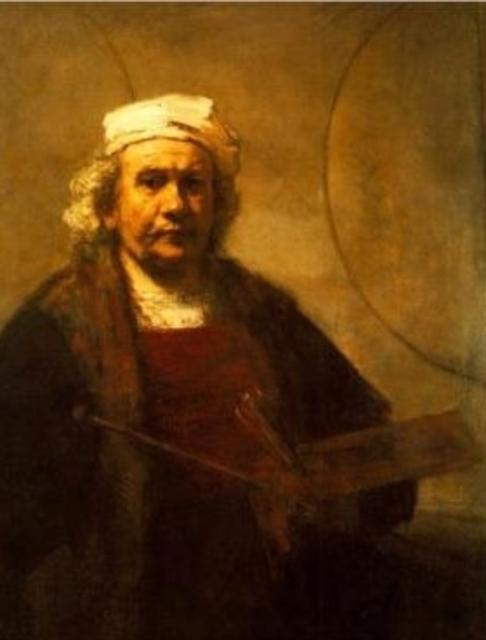 Auto portrait de Rembrandt
